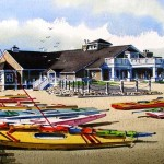 Avalon Yacht Club Giclee by William Ressler