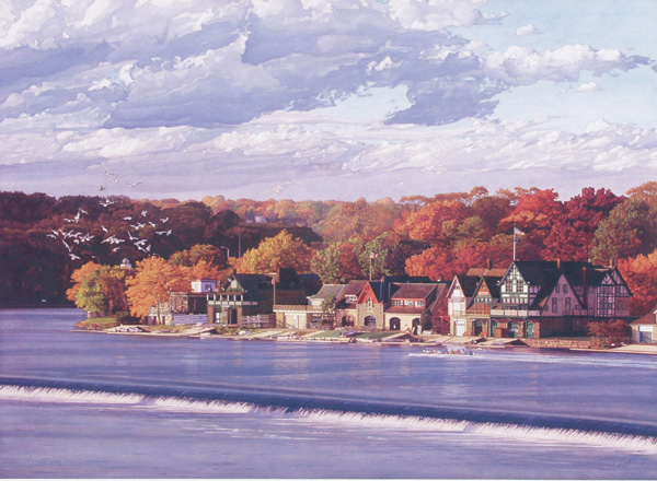 Boathouse Row 3 by Jamie Cavaliere