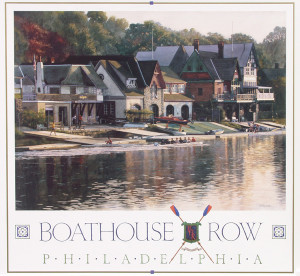 Boathouse Row by Jamie Cavaliere