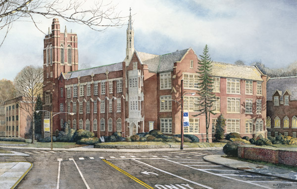 La Salle University by Nick Santoleri