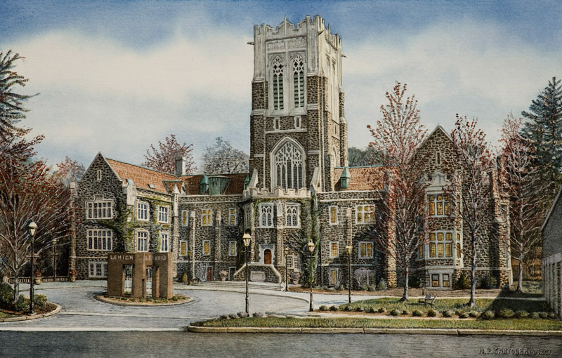Lehigh University by Nick Santoleri