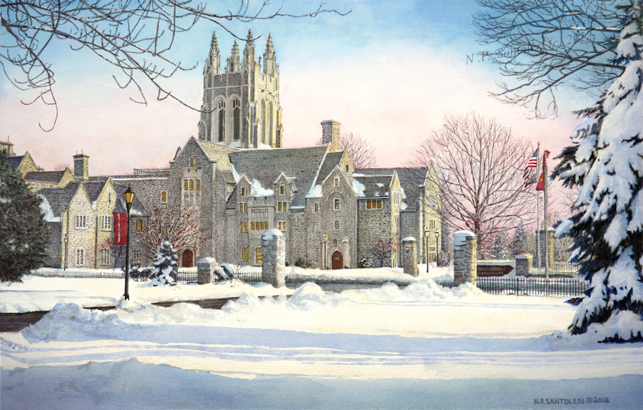 Saint Joseph's University 3 by Nick Santoleri