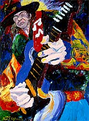 Stevie Ray by Dane Tilghman