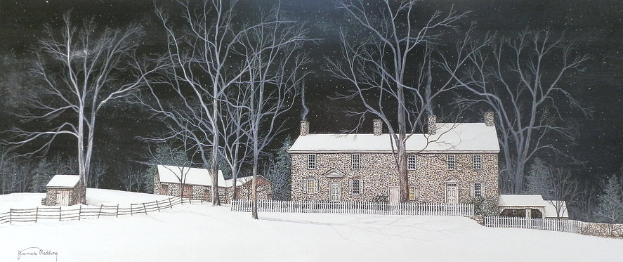 Thompson Neely House offset print by James Redding
