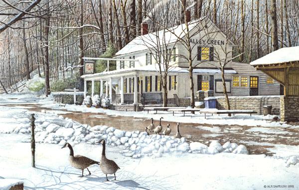 Valley Green Inn 3 by Nick Santoleri