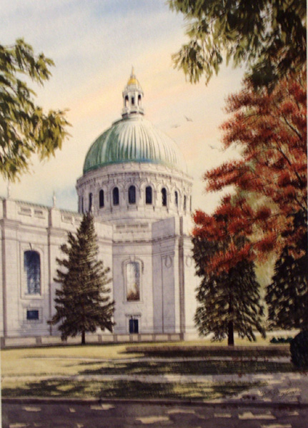 The Chapel (United States Naval Academy) by William Dawson