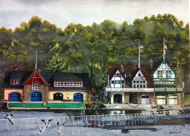 Boathouse Row Penn, Vesper, Malta by Moss Adams